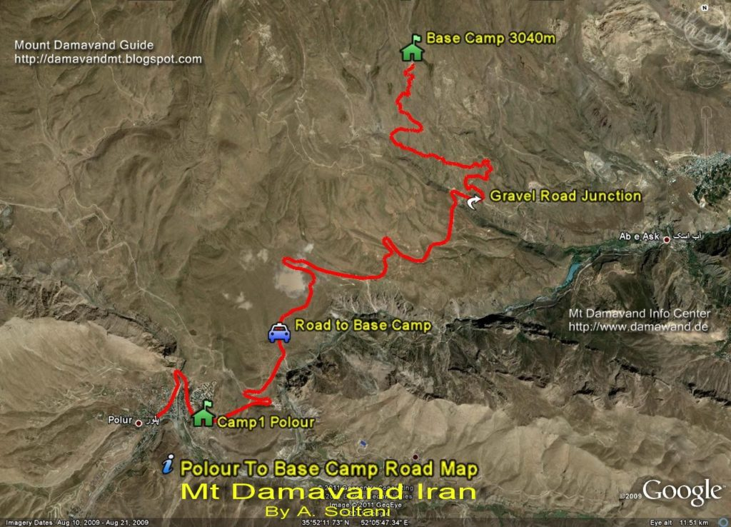 Damavand Camp 1 to Camp 2
